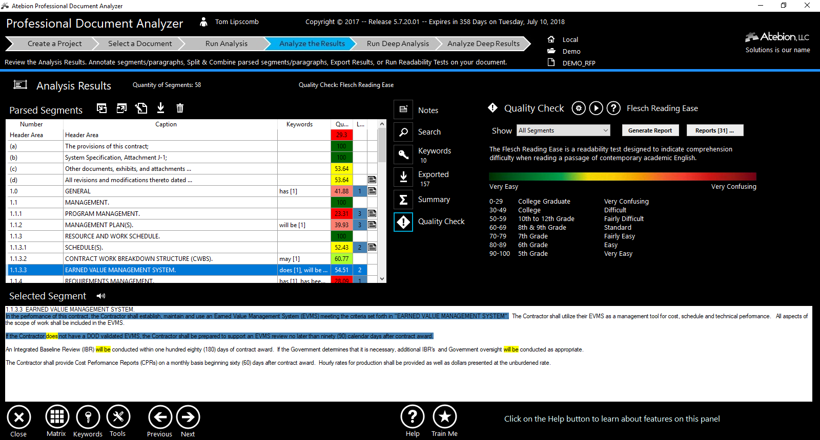 shred rfps keywords build compliance matrix amp proposal